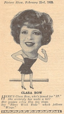 From Picture Show, February 23, 1929. Courtesy of the Clara Bow Archive