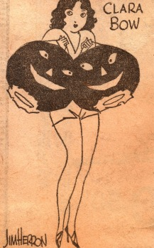 Art by Jim Herron. Circa 1929/30. Used by kind permission of the Clara Bow Archive.