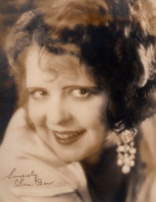 Autograph facsimile, circa 1928. Courtesy the Clara Bow Archive