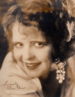 Autograph facsimile, circa 1928. Courtesy the Clara Bow Archive